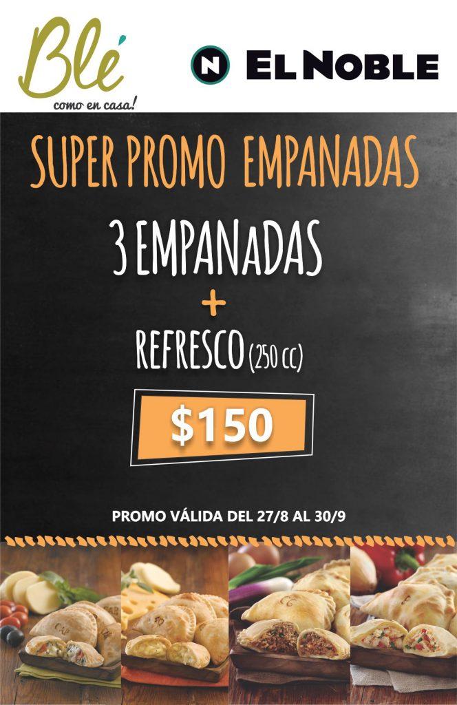 Super Promo Empanadas